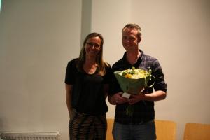 Vincent Schniedewind, 25 jaar lid AV De Spartaan